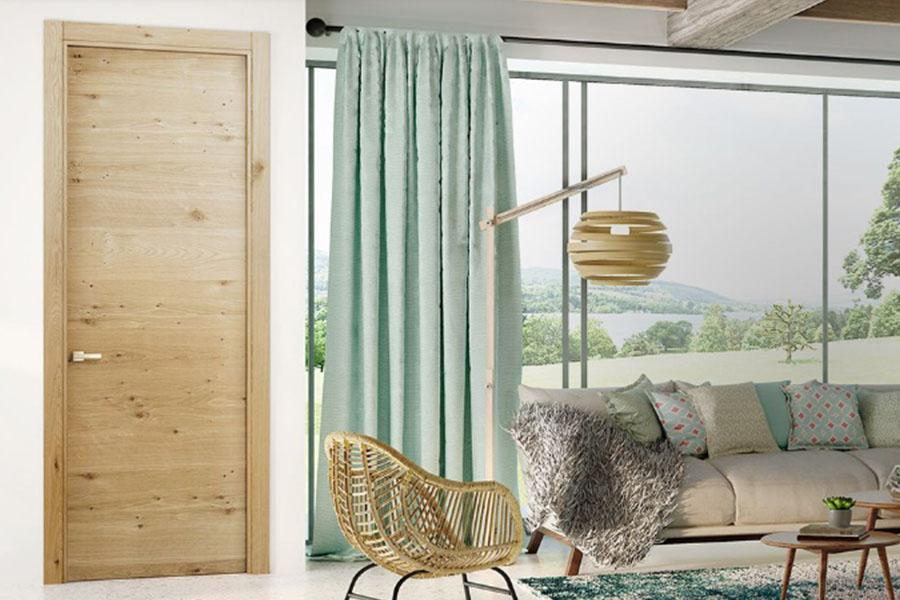 puerta de interior de madera para interior