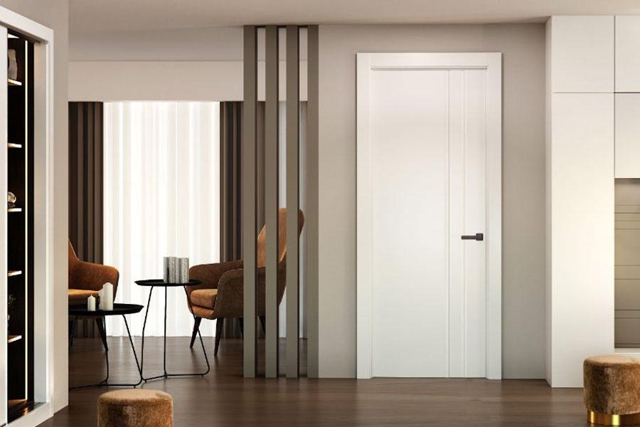 puerta blanca lacada para interior de habitaciones